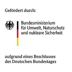 Logo Bundesministerium für Umwelt, Naturschutz und nukleare Sicherheit BMU